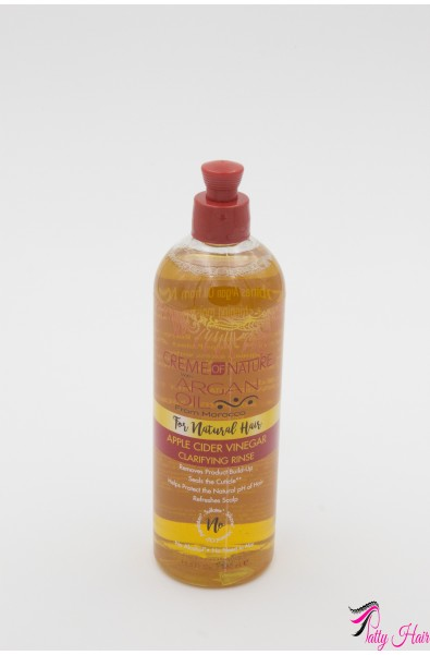 Rinçage clarifiant au vinaigre de cidre