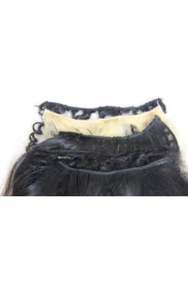 Echantillon cheveux naturels Silky Black