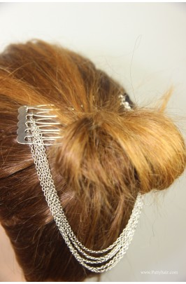 Silver Hair jewerly