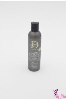 Shampoing Hydratant et Démêlant sans sulfate à l'Huile d'Amande et d'Avocat