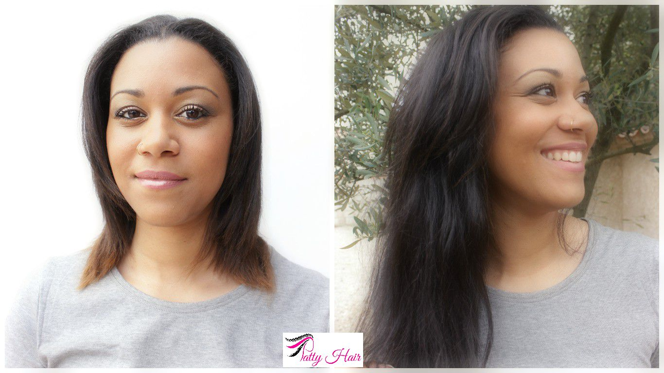 Pose extensions Patty Staright Natural Hair