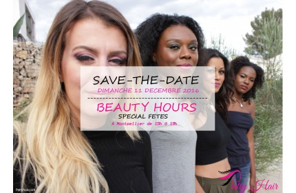 SAVE-THE-DATE: BEAUTY HOURS SPECIALE FETES