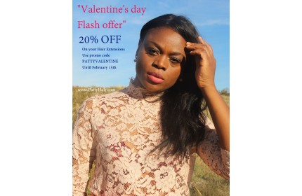VENTE FLASH SAINT VALENTIN